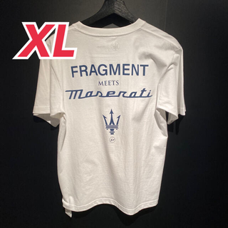 fragment × マセラティ Tシャツ XLサイズ(Tシャツ/カットソー(半袖/袖なし))