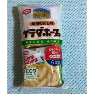 カメダセイカ(亀田製菓)のサラダホープ しお味(菓子/デザート)