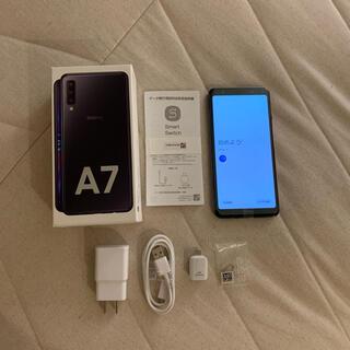 Galaxy - 極美品 ギャラクシー A7 黒 64GB