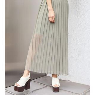 エモダ(EMODA)のプリーツスカート(ロングスカート)