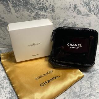 シャネル(CHANEL)の正規未使用/CHANEL/VIP限定ノベルティ/ミラー付コスメケース/非売限定品(ボトル・ケース・携帯小物)