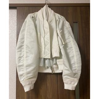 サカイ(sacai)の限定出品!sacai新品ブルゾンMA1ボンバージャケット(ブルゾン)