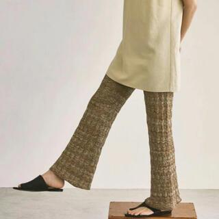 トゥデイフル(TODAYFUL)のトゥデイフル Lace Knit Leggings 38(レギンス/スパッツ)