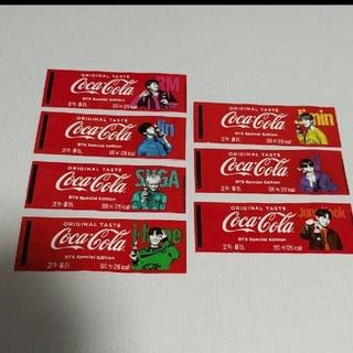BTS  コカコーラ ラベル 7枚セット