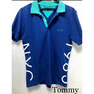 トミー(TOMMY)のトミー サイドロゴ ポロシャツ ゴルフウエア(ポロシャツ)