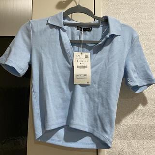 ザラ(ZARA)のZARA ショート丈 トップス(Tシャツ(半袖/袖なし))