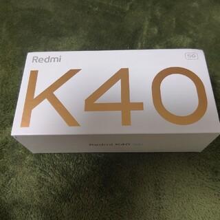 ANDROID - xiaomi redmi k40 6GB128GB Global ROM焼 黒