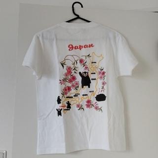 新品 半袖Tシャツ「くまモン日本地図」 むかしむかし×くまモン
