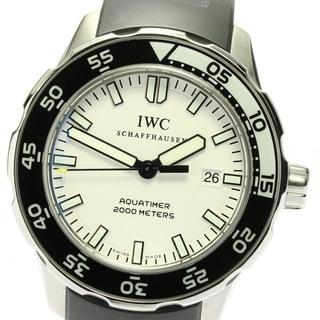 インターナショナルウォッチカンパニー(IWC)の☆良品 IWC アクアタイマー デイト IW356811 メンズ 【中古】(腕時計(アナログ))