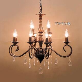 12灯シャンデリア「ビアンカ」LED電球対応 天井照明 インテリア(131)(天井照明)