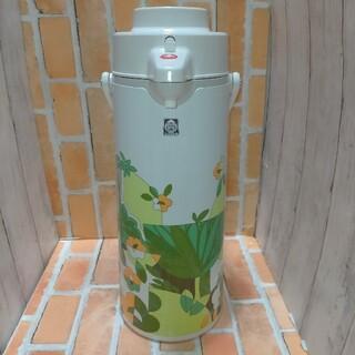 TIGER - タイガー 魔法瓶 1.9L ポット レトロ モダン 未使用品 北欧風 グリーン