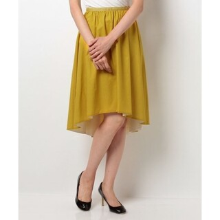 ハロッズ(Harrods)の新品タグ付 エリザ ウォッシャブルスカート(ひざ丈スカート)