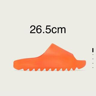 """アディダス(adidas)のADIDAS YEEZY SLIDE """"ENFLAME ORANGE""""(サンダル)"""