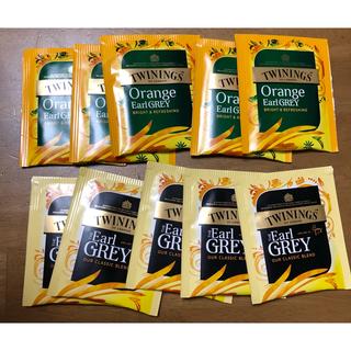 TWININGS   レディグレイ オレンジ アールグレイ  10袋セット(茶)