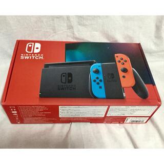 Nintendo Switch - Nintendo Switch ニンテンドースイッチ 本体 ネオン 新型 訳あり