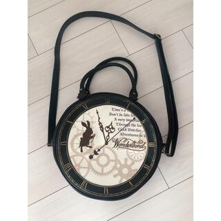 ディズニー(Disney)のh.Naoto×アリスインワンダーランド 時計型バッグ ディズニーストア(その他)