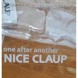 ナイスクラップ(NICE CLAUP)の新品NICE CLAUPクリアバッグ(ハンドバッグ)