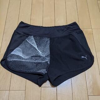 プーマ(PUMA)のプーマ puma レデイース ランニングパンツ ジョギングパンツ Sサイズ ブラ(ショートパンツ)