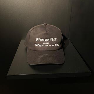 フラグメント(FRAGMENT)の新品未開封!マセラティ x フラッグメント帽子(キャップ)