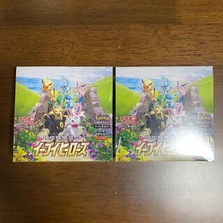 ポケモン(ポケモン)のポケモンカード イーブイヒーローズ 2BOX 新品未開封シュリンク付き(Box/デッキ/パック)