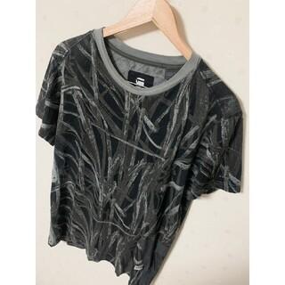 ジースター(G-STAR RAW)のG-STAR RAW ジースターロー 総柄丸首tシャツ(Tシャツ/カットソー(半袖/袖なし))