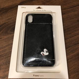 フランフラン(Francfranc)のミッキー iPhoneケース X Xs フランフラン Francfranc(iPhoneケース)