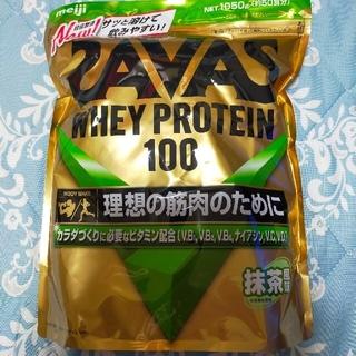 ザバス(SAVAS)のザバス ホエイプロテイン100 抹茶風味(プロテイン)