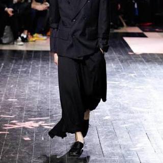 Yohji Yamamoto - groundy ヨウジヤマモト カラスパンツ ワイドパンツ