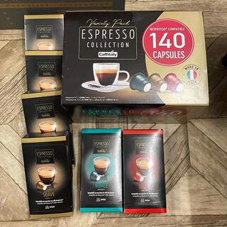 コストコ(コストコ)のネスプレッソ 互換カプセル コーヒー 14箱+7箱(コーヒー)