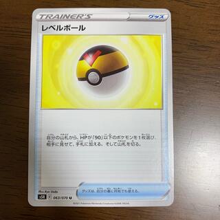 ポケモン(ポケモン)のポケモンカード レベルボール(シングルカード)