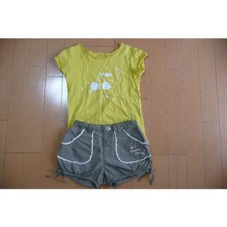 Bonpoint - ボンポワンTシャツとhushushパンツセット 110センチ