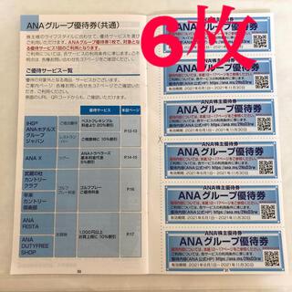 ☆株主優待券☆ ANAグレープ優待券 6枚(その他)