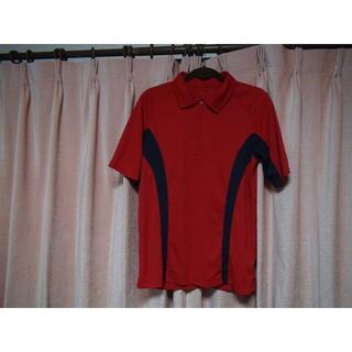 シマムラ(しまむら)のしまむらの赤のポロシャツ(M)!。(ポロシャツ)