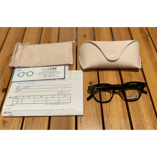 トゥデイフル(TODAYFUL)のZoff×REIKA YOSHIDA コラボ眼鏡(サングラス/メガネ)
