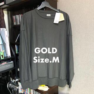 トウヨウエンタープライズ(東洋エンタープライズ)のGOLD HEAVY SUVIN CREW NECK INSIDE OUT(Tシャツ/カットソー(七分/長袖))