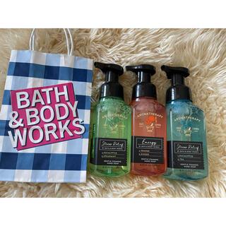 バスアンドボディーワークス(Bath & Body Works)のBath&BodyWorks泡タイプ(ボディソープ/石鹸)