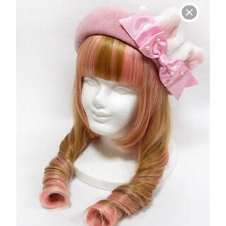 アンジェリックプリティー(Angelic Pretty)のきまぐれCatベレー(ハンチング/ベレー帽)