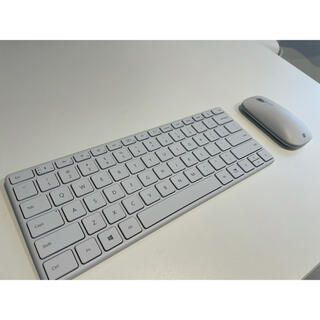 Microsoft コンパクトデザイナーキーボード モダンマウス(PC周辺機器)