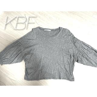 ケービーエフ(KBF)の【KBF】七部丈ドルマンTシャツ(Tシャツ(長袖/七分))