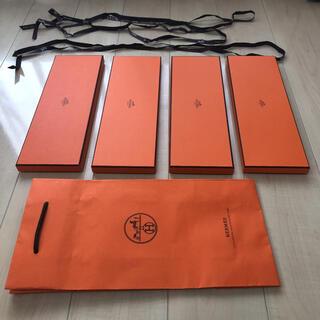 エルメス(Hermes)のliberty.co様専用 エルメス ネクタイ空箱4つ、袋1枚、リボン3(その他)