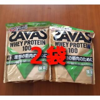 SAVAS ザバス ホエイプロテイン 100 抹茶 (プロテイン)