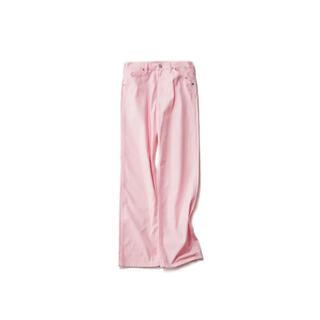 ユニクロ(UNIQLO)の未使用 UNIQLO jw anderson パンツ ピンク(カジュアルパンツ)