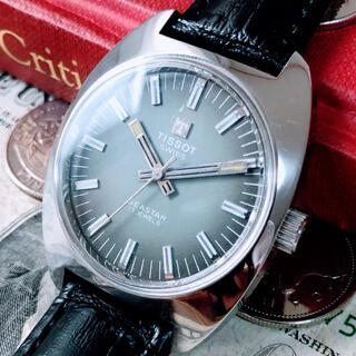 ティソ(TISSOT)の#1337【お洒落な文字盤】メンズ 腕時計 ティソ 動作良好 ヴィンテージ (腕時計(アナログ))