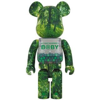 メディコムトイ(MEDICOM TOY)のMY FIRST BE@RBRICK B@BY FOREST GREEN1000(キャラクターグッズ)