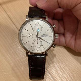 インターナショナルウォッチカンパニー(IWC)のポートフィノ 美品(腕時計(アナログ))
