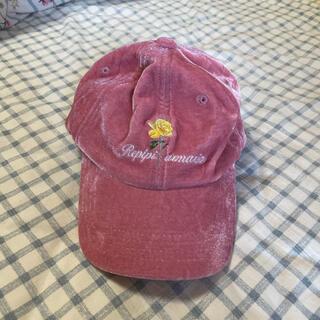レピピアルマリオ(repipi armario)のレピピアルマリオ ベロア キャップ(帽子)