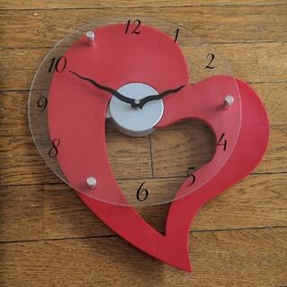 ニトリ(ニトリ)の壁掛け時計 ハート ニトリ(掛時計/柱時計)