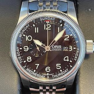 オリス(ORIS)の【お値下げ❣️】曜日、日付け表示のORIS  ビッグクラウンです。(腕時計(アナログ))