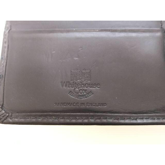 WHITEHOUSE COX(ホワイトハウスコックス)の ホワイトハウスコックス whitehouse cox 長財布 メンズのファッション小物(長財布)の商品写真