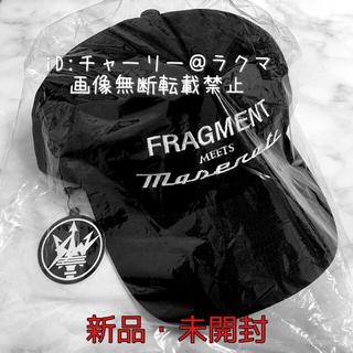 フラグメント(FRAGMENT)の原宿限定 Maserati マセラティ fragment フラグメント キャップ(キャップ)